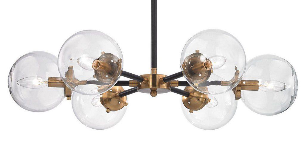 Boudreaux 6 light chandelier black ceiling lights fans indoor and outdoor · black ceilingone kings laneceiling