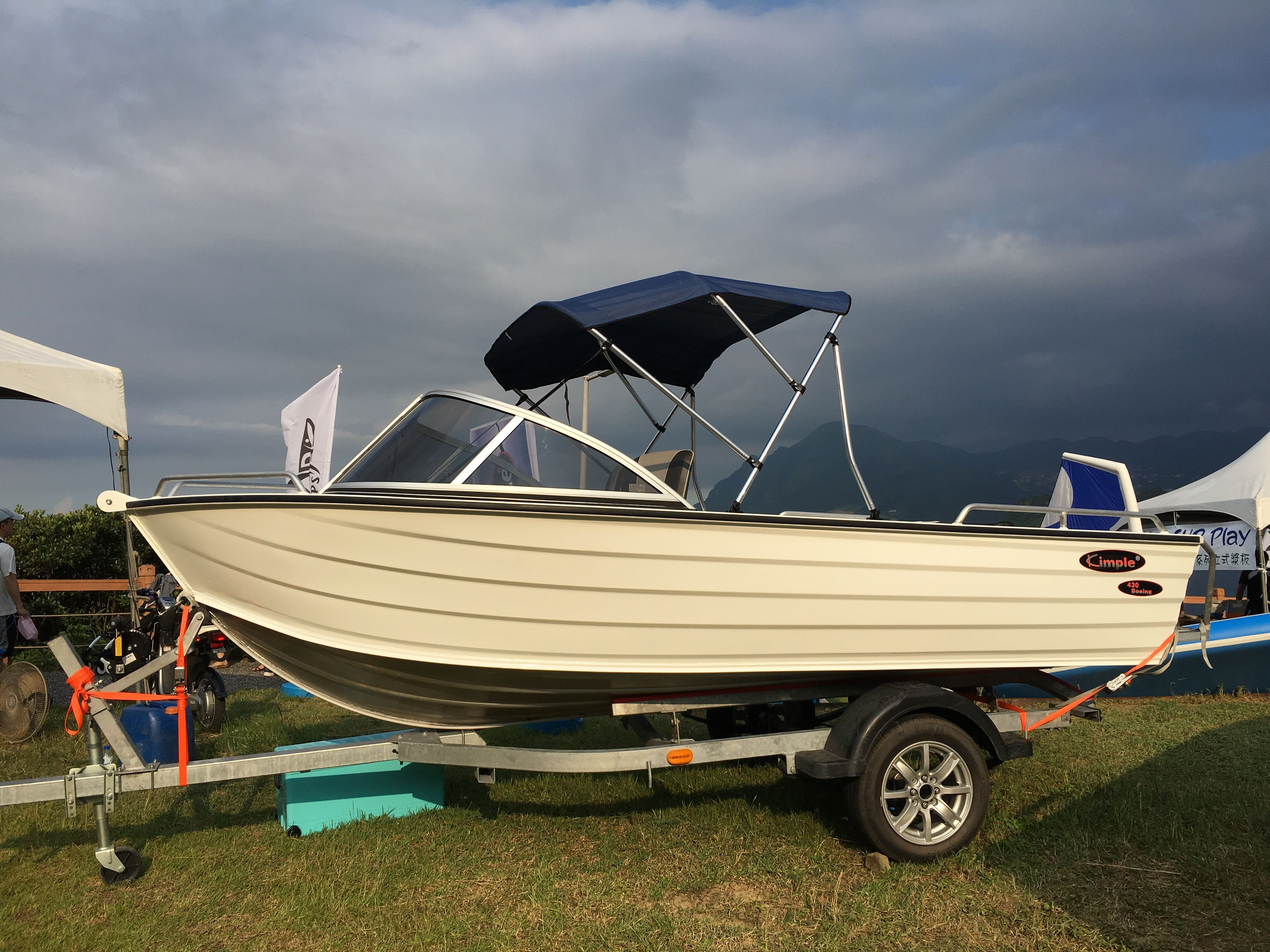 Aluminum Runabout Boat Boeing 430 WD