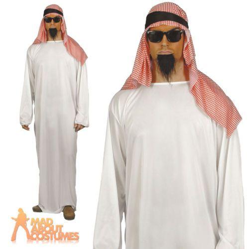 Adult arab #costume #shiek sultan osama bin ladden fancy #dress outfit,  View more on the LINK: http://www.zeppy.io/product/gb/2/151345846002/