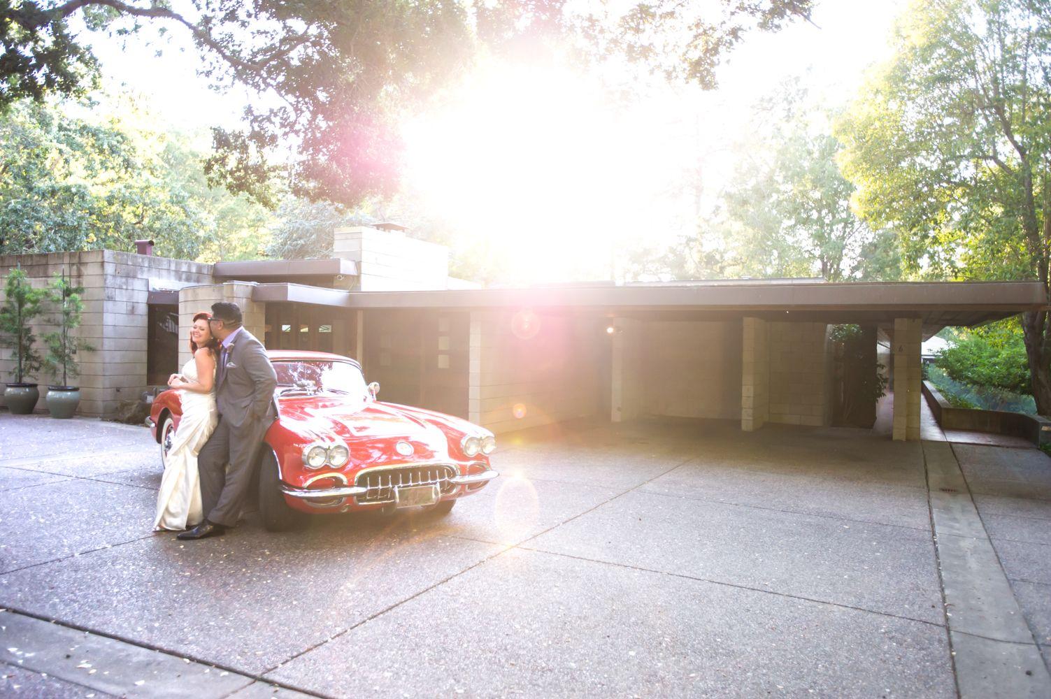 Clic Car Frank Lloyd Wright Wedding Chloe Jackman Photography