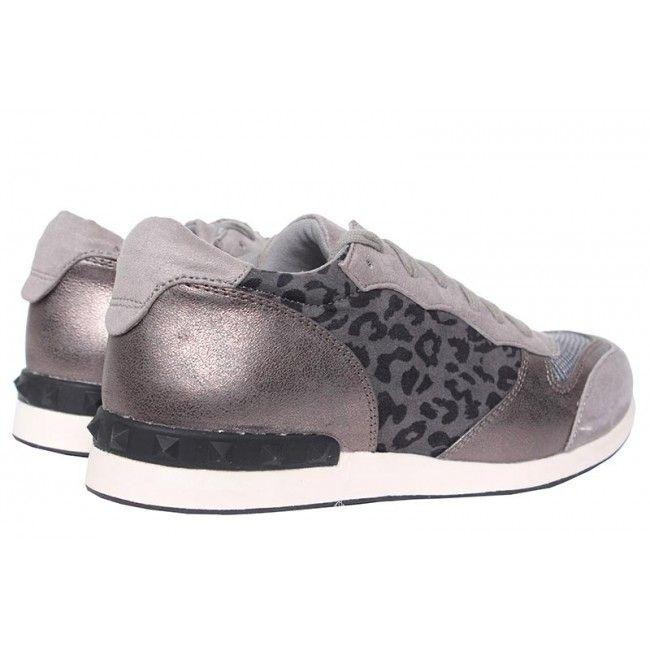 Grijze - La Strada - Sneakers