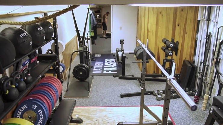 A look at mat fraser s home gym world s fittest man home