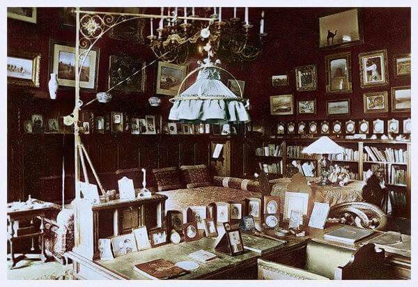 Old Study at the Alexander Palace.A♥W