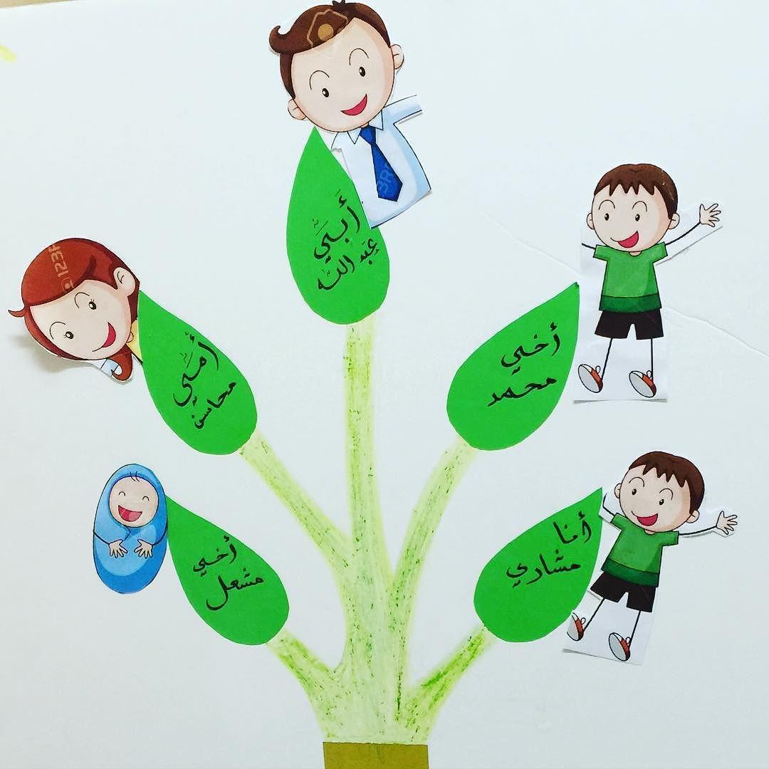 غ راس م عل مة On Instagram ابداع الأمهات وحدة العائله شجرة العائلة Preschool Crafts Creative Kids Heart Cards