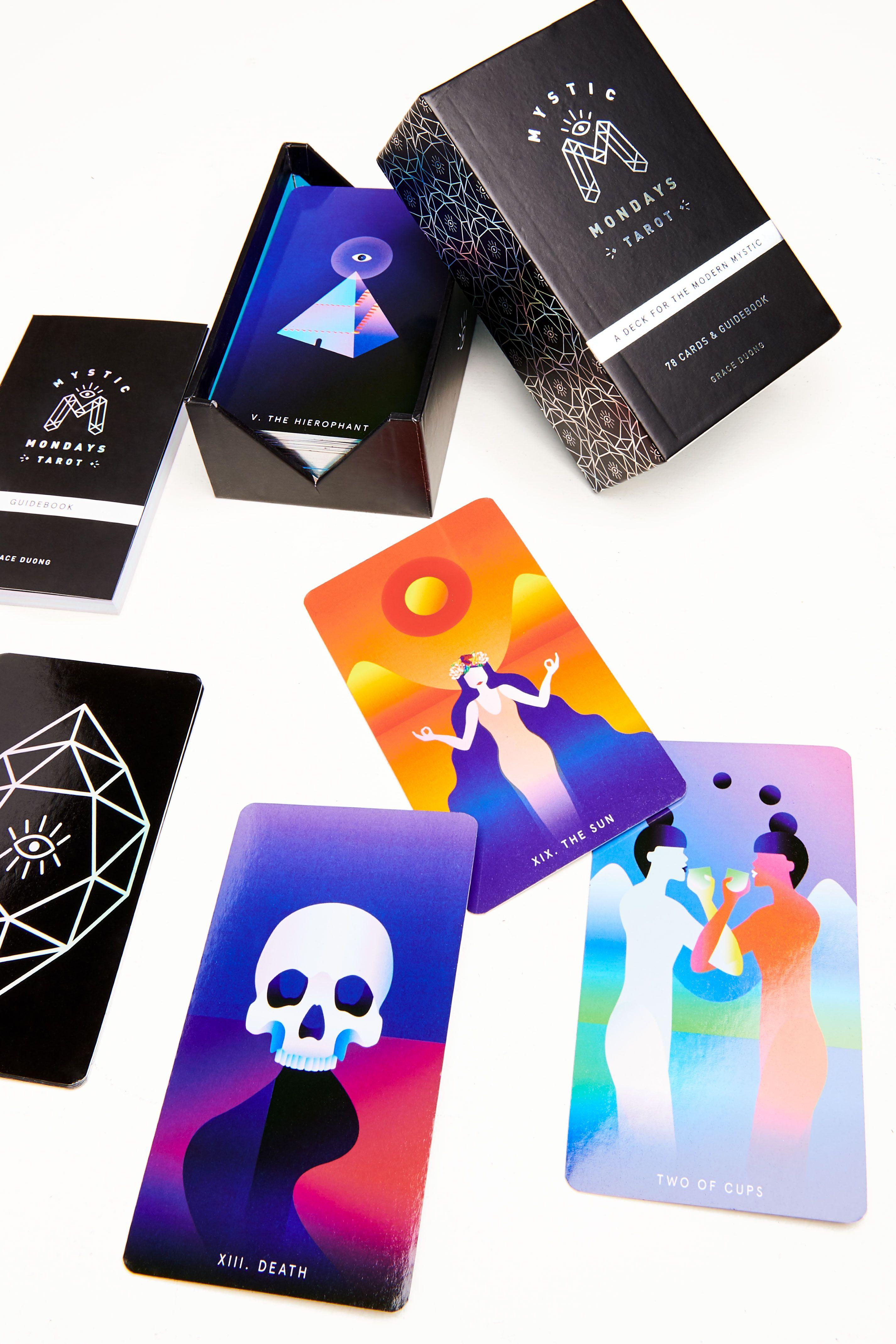 Mystic Mondays Tarot A Deck For The Modern Mystic Unique Tarot Decks Tarot Tarot Card Decks