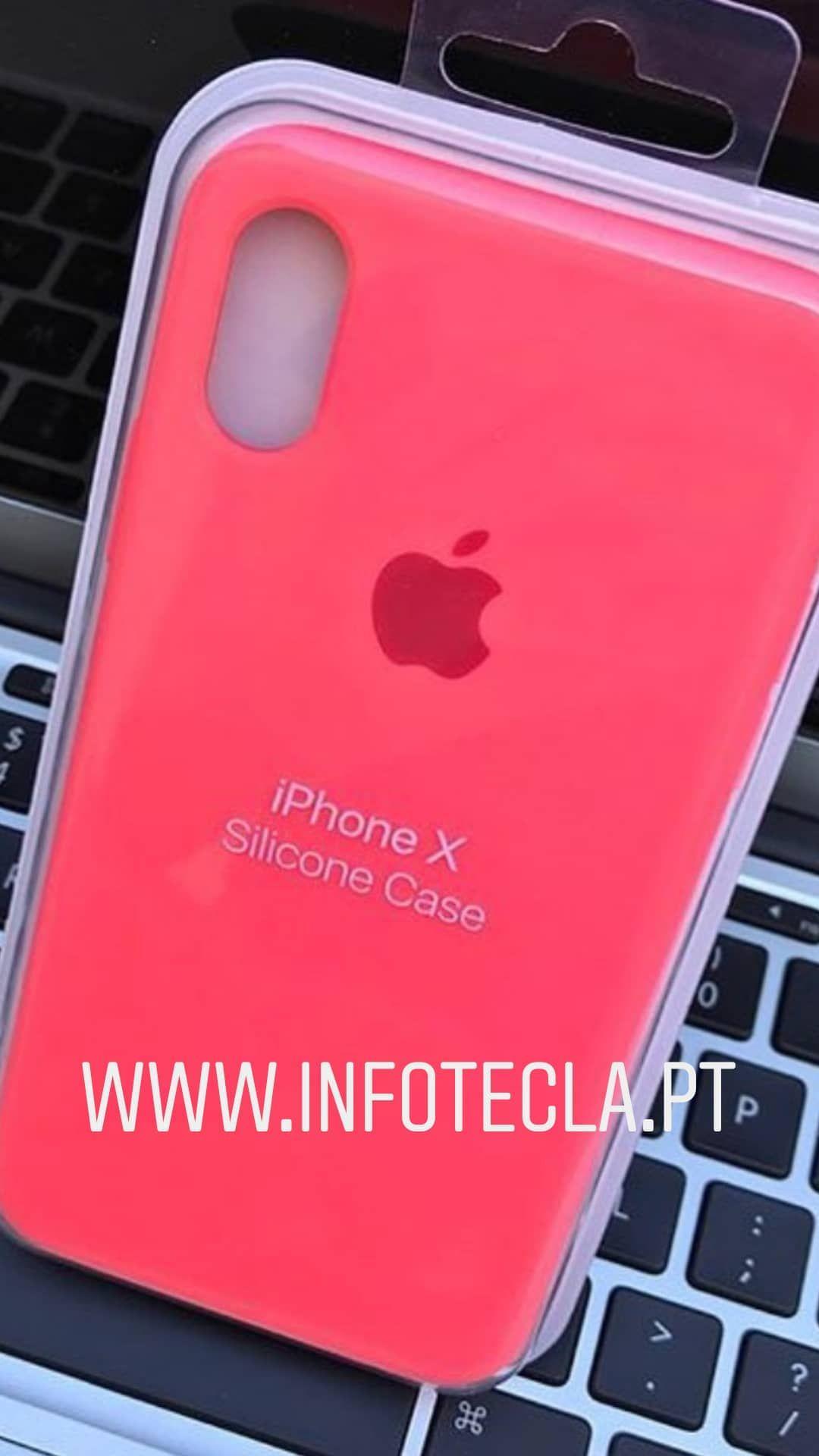 3282cb4865e Capa Apple iPhone X - Rose Fluorescente | Capas em 2019 | Apple ...