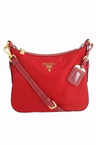 Prada Tessuto Saffiano Sling Bag -  546.34 on  ClozetteCo  b61490e4ee61f
