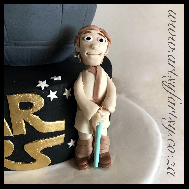 Luke skywalker cake topper lukeskywalkercaketopper star