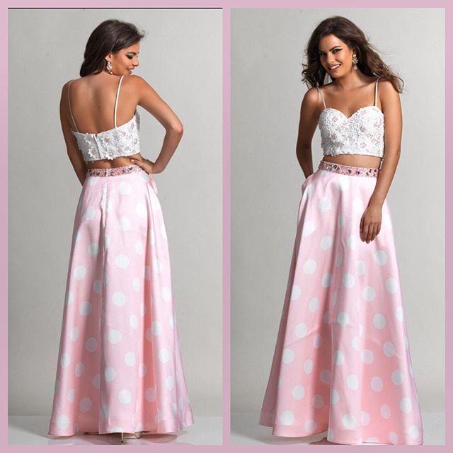 #prom #dress  #pink #polkadots #shoplocal