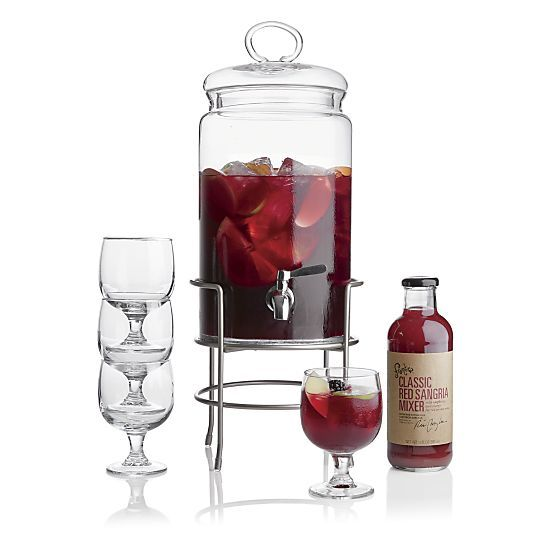 Cold Beverage Jar | Crate and Barrel