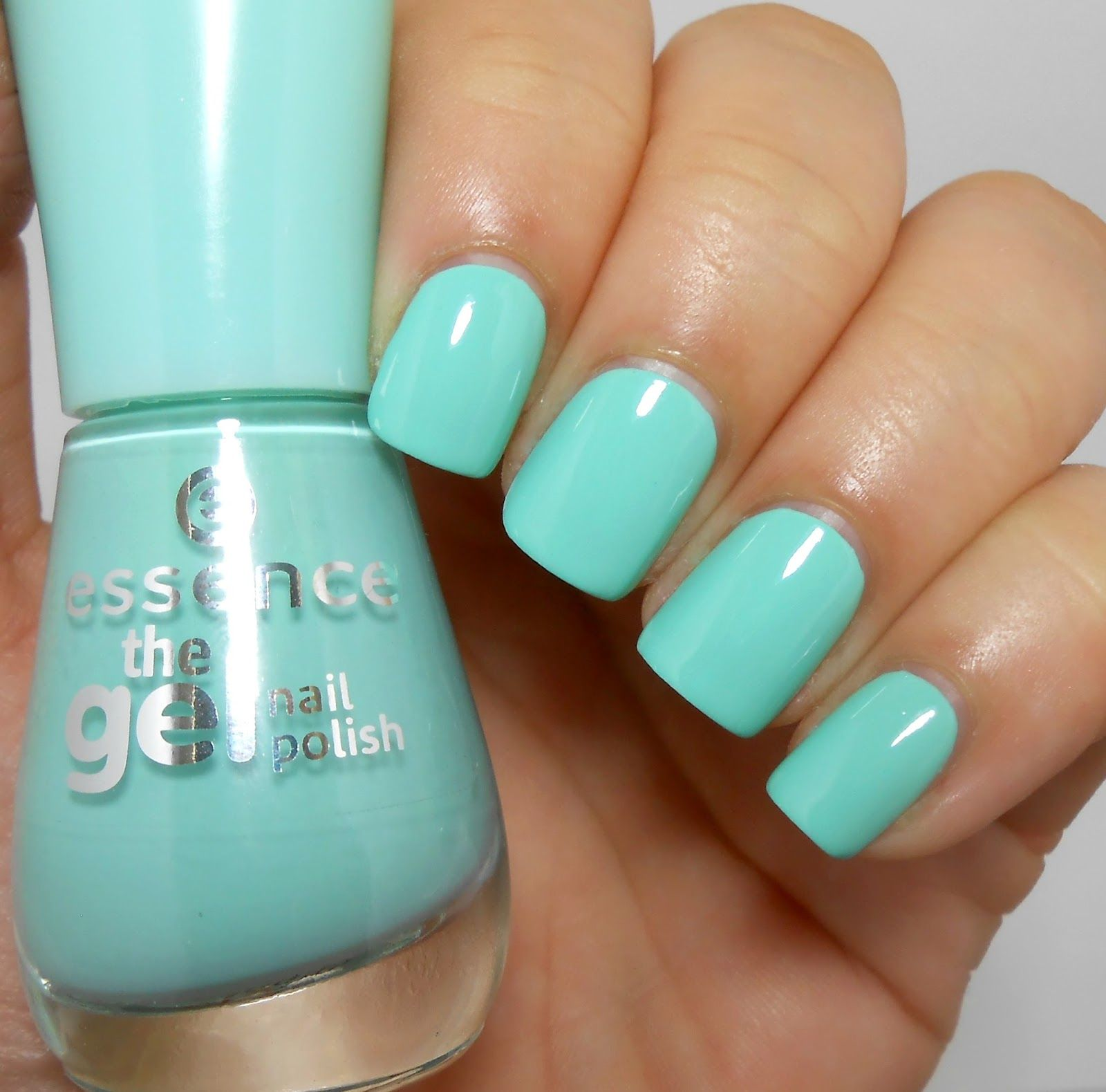Uñas Gel Sin Lampara Taya Review And Swatches Essence The Gel Nail Polish