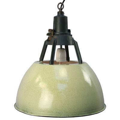 Vintage Industrial Green Enamel Pendant Light Industrial Pendant Lights Vintage Pendant Lighting Industrial Ceiling Lights