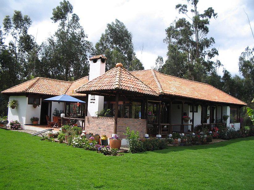 Casas campestres construccion personalizada casas for Fachadas de cabanas rusticas