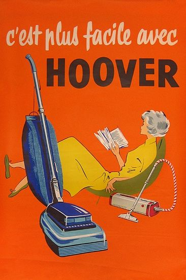 Image result for hoover retro advertisement