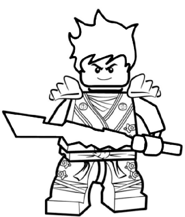 Ninjago Ausmalbilder Ausmalbilder Für Kinder Ninjago Lego
