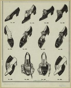 Shoes! 1907 shoes from the Mid-Manhattan Picture Collection.