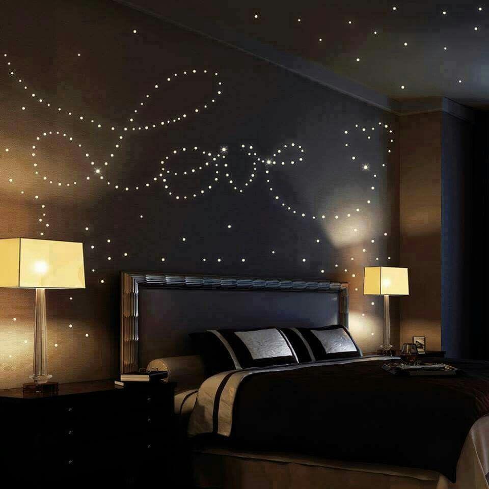 Romantisches himmelbett mit lichterkette  Lichterketten Muster | Diy | Pinterest | Lichterkette, Muster und ...