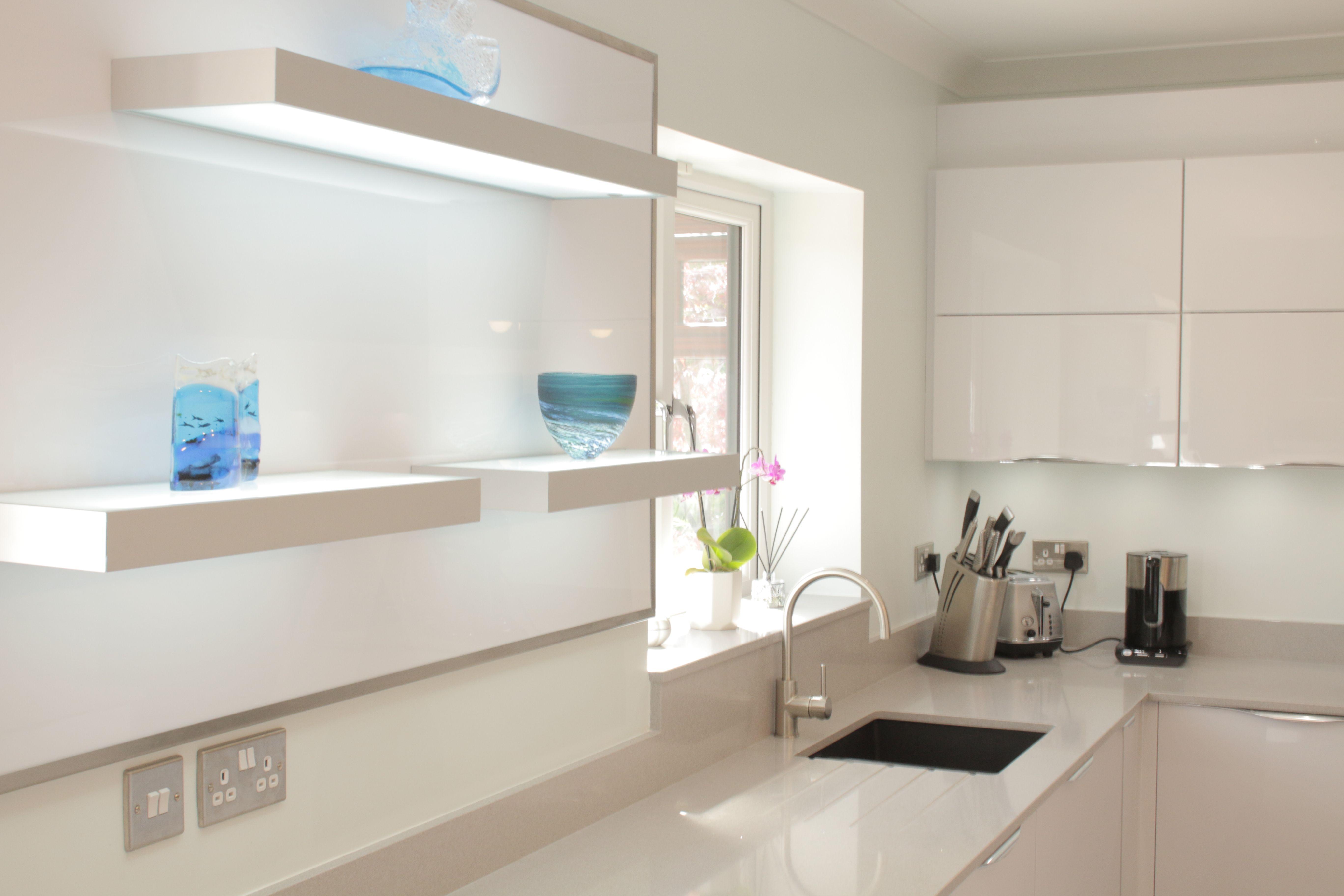 Lake View Kitchen Created By Simply Kitchens Plymouth. Modern Kitchen,  White Kitchen, Kitchen