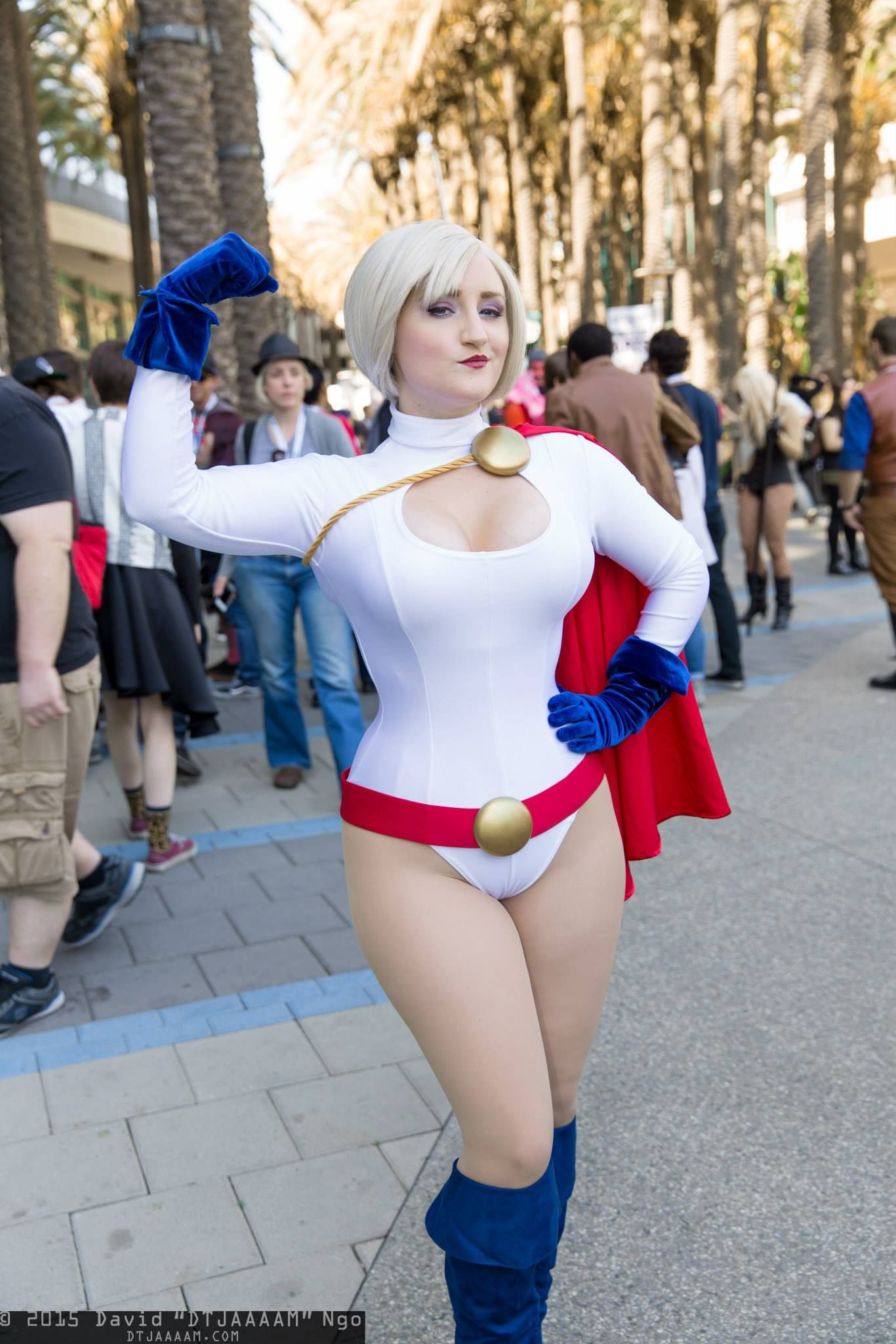 That interrupt larkin love as power girl cosplay recommend you