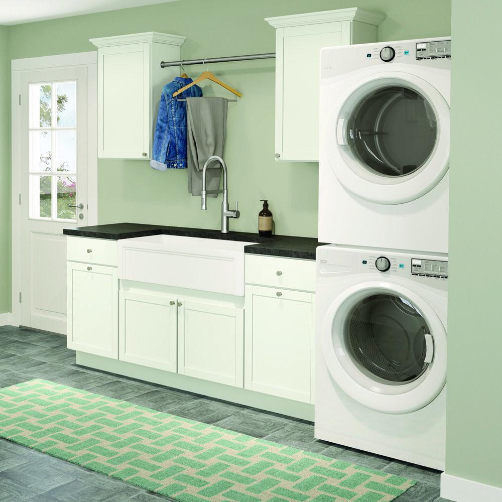 Lanston White Classic White White White Cabinets