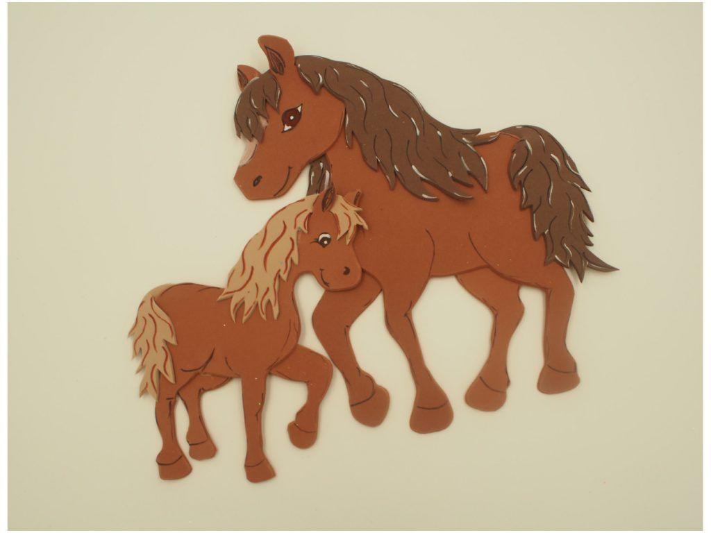 Bildergebnis Für Pferd Basteln Basteln Schablonen Und