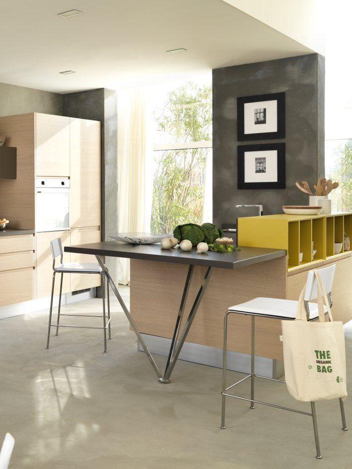 Youthful kitchen LINDA by Cucine Lube #kitchen #yellow #food ...