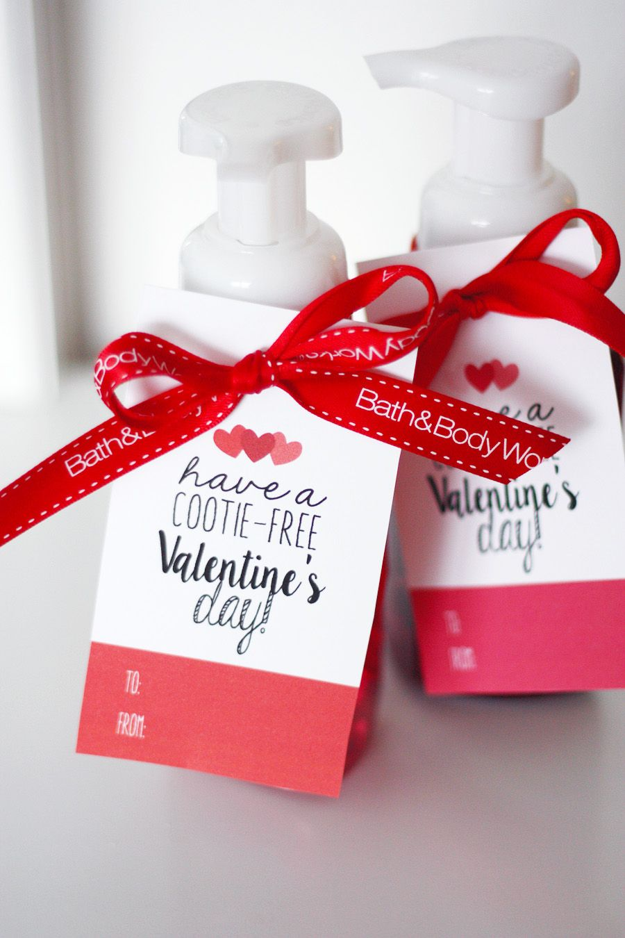 Valentine S Day Cootie Free Tags