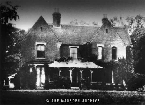 Borley Rectory (before the fire), Suffolk, England (MA-H-. Most Haunted PlacesHaunted ...