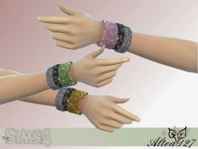 Three circles bracelet at Altea127 SimsVogue via Sims 4 Updates
