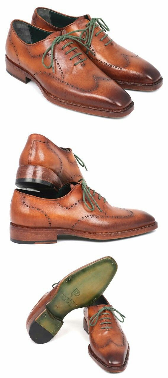 97a38f13ab13 PAUL PARKMAN MEN'S WINGTIP OXFORD GOODYEAR WELTED CAMEL BROWN ...