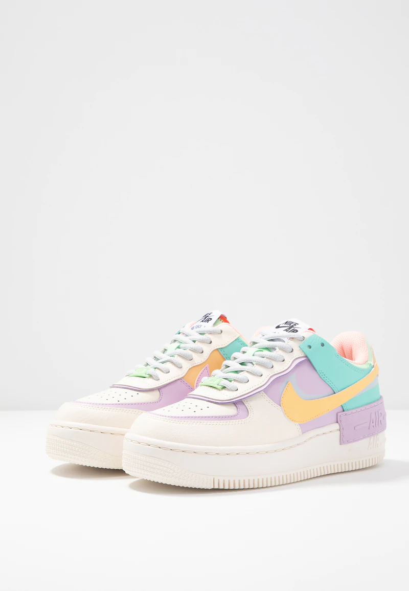Nike Sportswear Air Force 1 Shadow Sneakersy Niskie Pale Ivory Celestial Gold Tropical Twist Zalando P White Nike Shoes Jordan Shoes Girls All Nike Shoes Vil du have 10% rabat på din næste ordre? white nike shoes