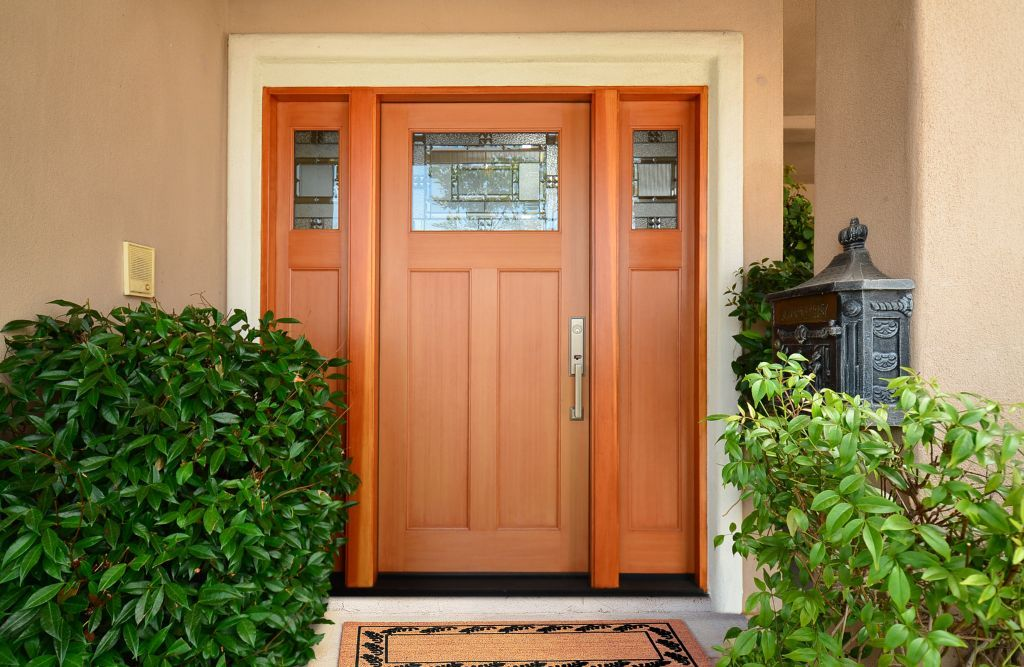 Beau Craftsman Plastpro Fiberglass Entry Door System Model DRS6C With Spring  Glass. Installed In Orange, CA Home. | Entry Doors | Pinterest | Fiberglass  Entry ...