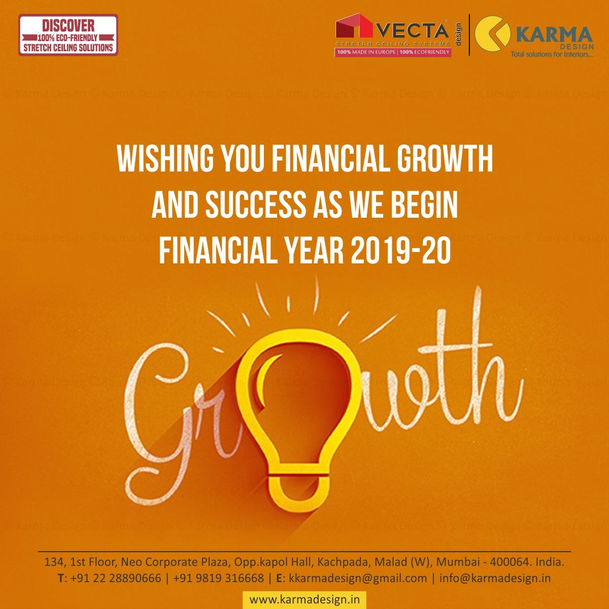 Wishing you financial growth and success as we begin the