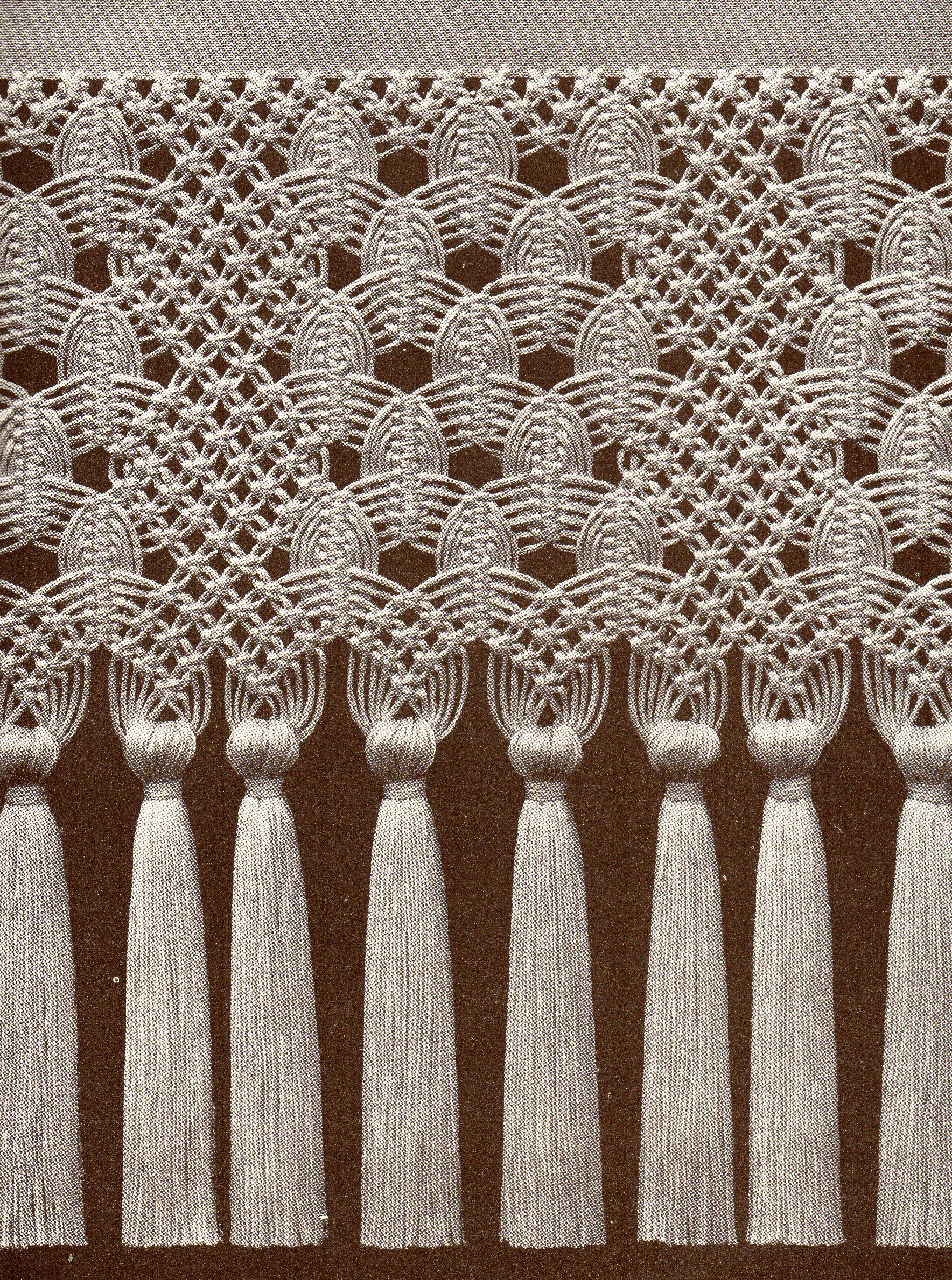 Macrame pattern projects to try pinte - Tapices de macrame ...