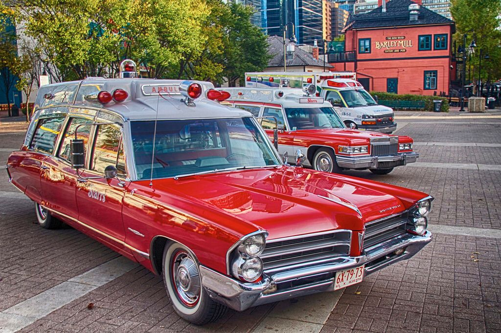 Pin on ambulances and hearses and police cars