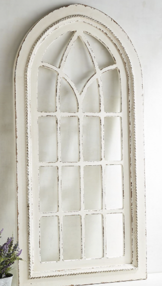 White Rustic Arch Wall Decor Arched Wall Decor Window Wall Decor Wall Decor