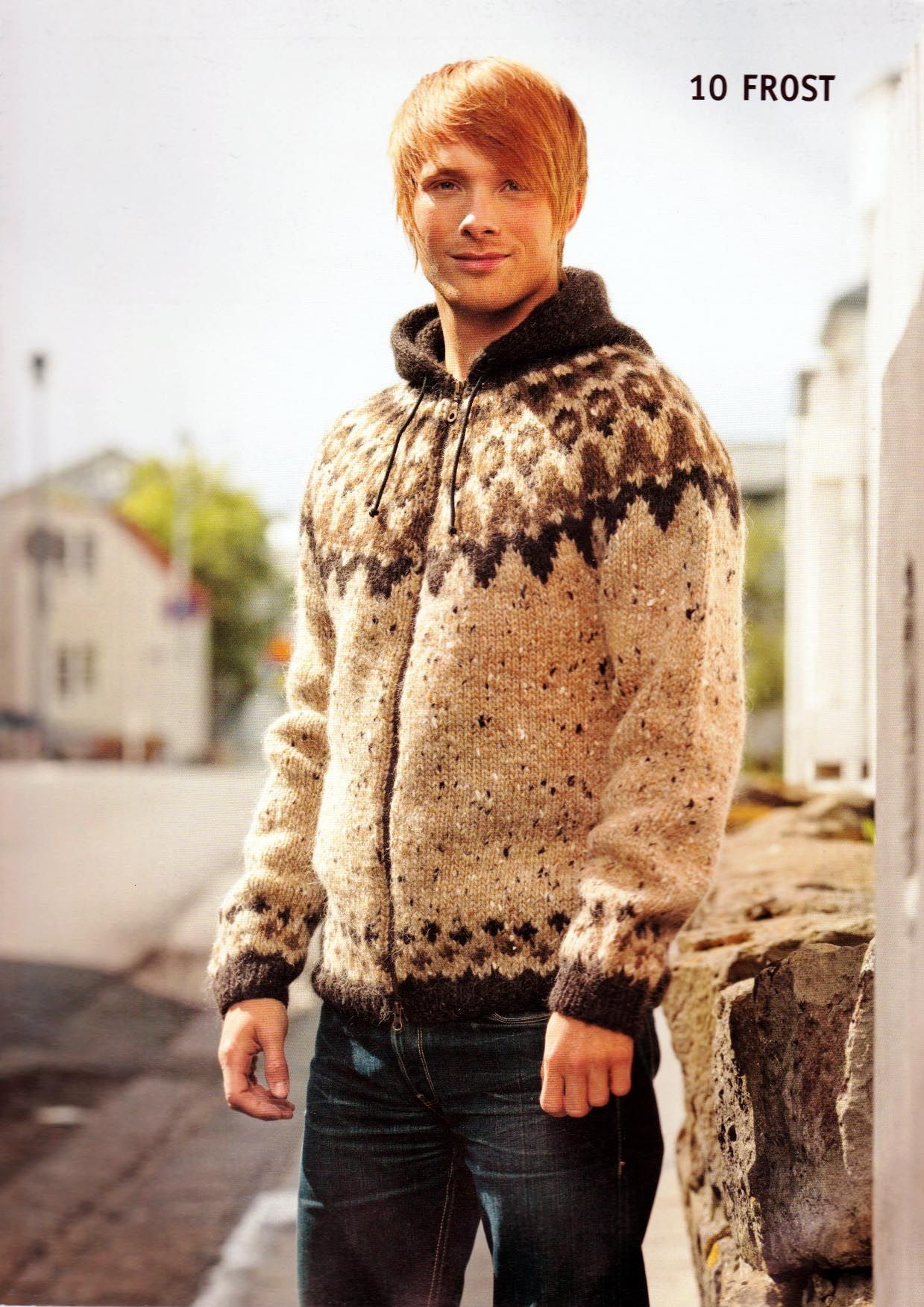 Pattern - FROST - Icelandic sweater with hood | knitting patterns ...