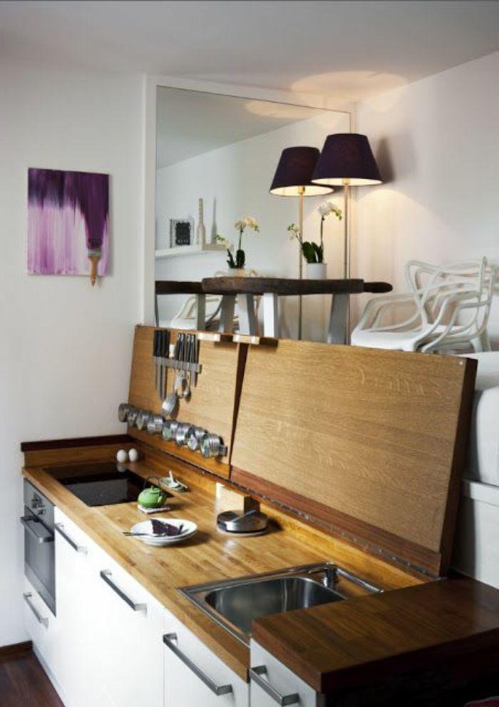 Comment aménager une petite cuisine? Idées en photos! Kitchens