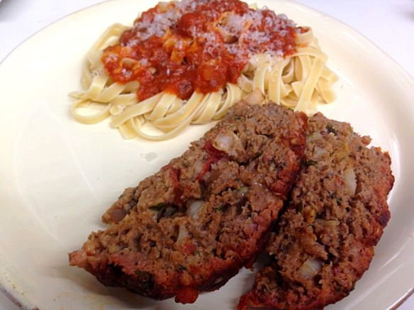 Italian Meatloaf cooked on the BGE