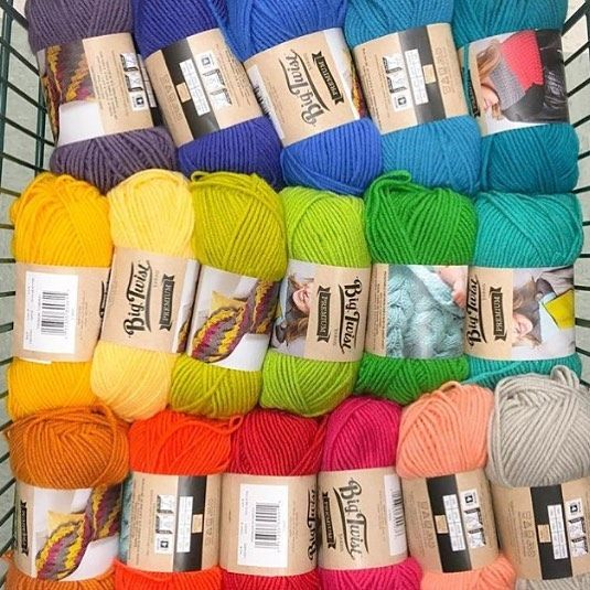 Jo Ann Fabric And Craft Stores On Instagram Now This Is Our Kind Of Rainbow Shout Out To Carlinpenelope For The Color Insp Color Yarn Addict Yarn Colors