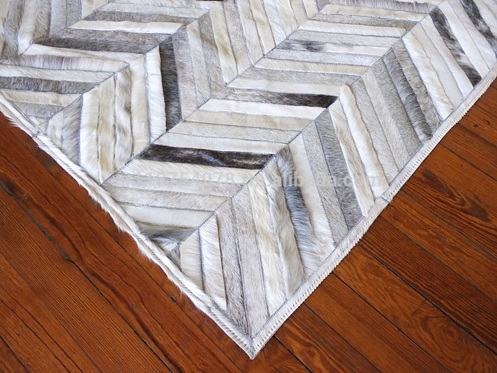 Patchwork Cowhide Leather Rugs Cowhide Leather Rug Patchwork