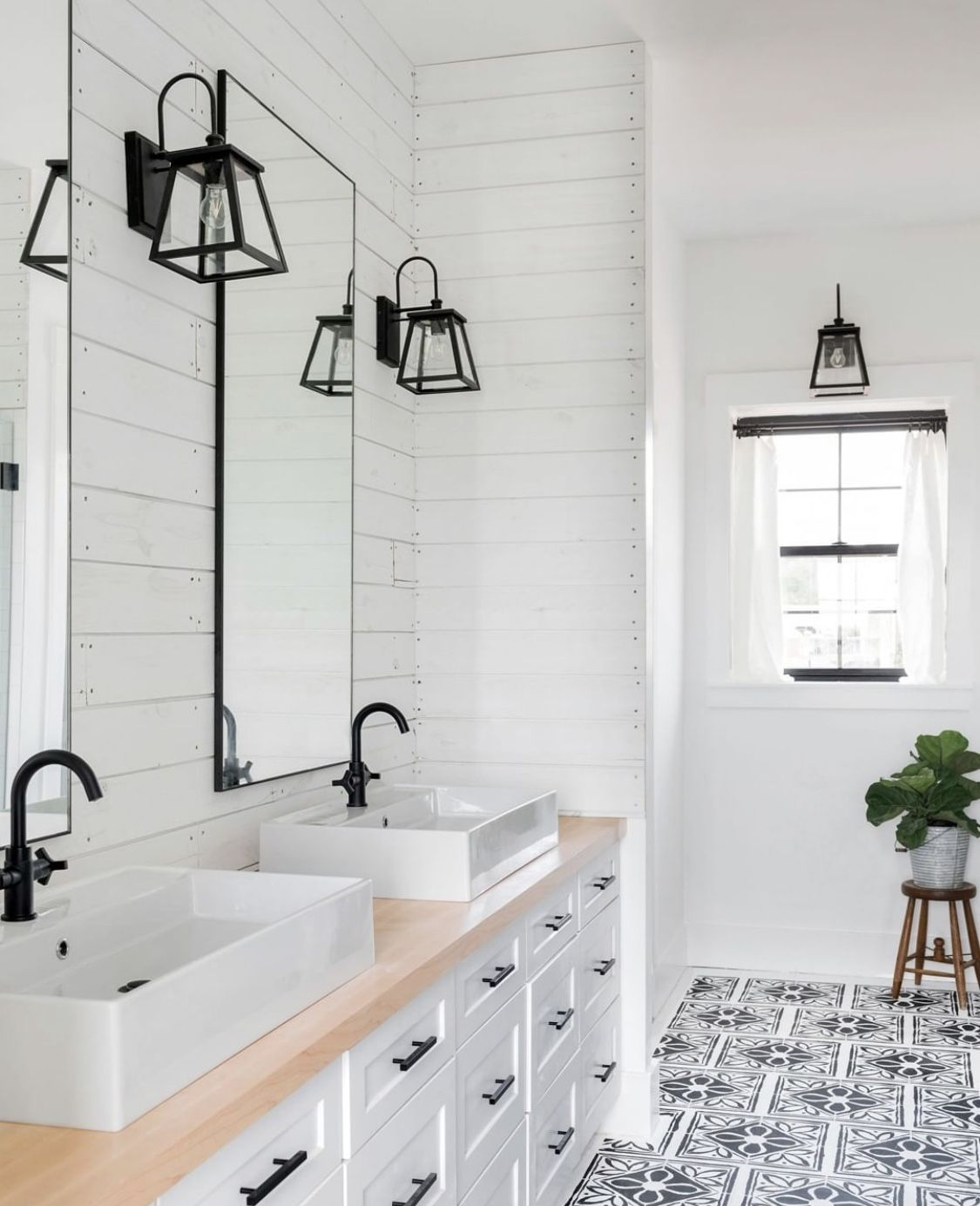 Rustic Bathroom Decor, Modern Farmhouse Bathroom
