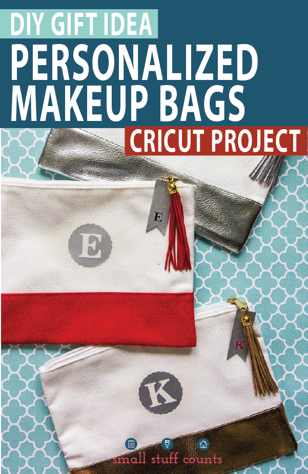Monogram Makeup Bags Diy makeup bag, Diy leather