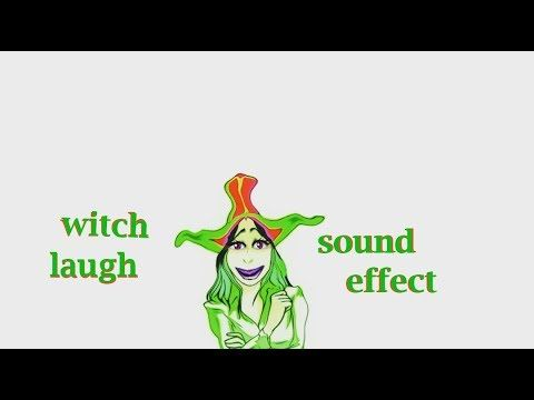 When A Witch Laugh - Sound Effect - Animation | Sound Effect | Funny