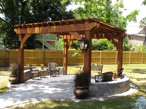 Pergolas And Pavilions Outdoor Pergola Backyard Pergola Pergola