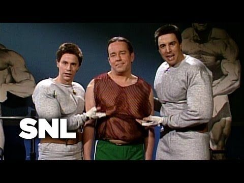 Pumping Up with Hanz and Franz: Flabby Helmut - Saturday Night Live - YouTube