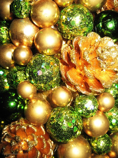 orange christmas tree balls  Rainforest Islands Ferry