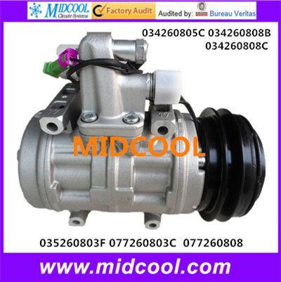 High Quality Auto Ac Compressor 10p17c For Audi 034260805c