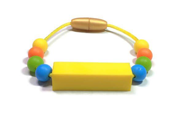 Chew Bracelet Fidget Autism Sensory Processing Disorder Motor Needs Adhd