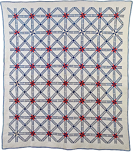 1880's Wild Goose Chase Quilt
